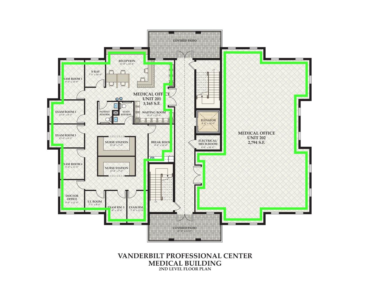 Bayfront Realty Vanderbilt Professional Center